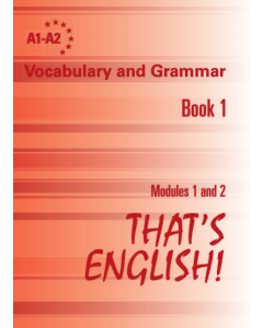 Vocabulary and Gramar, Book 1